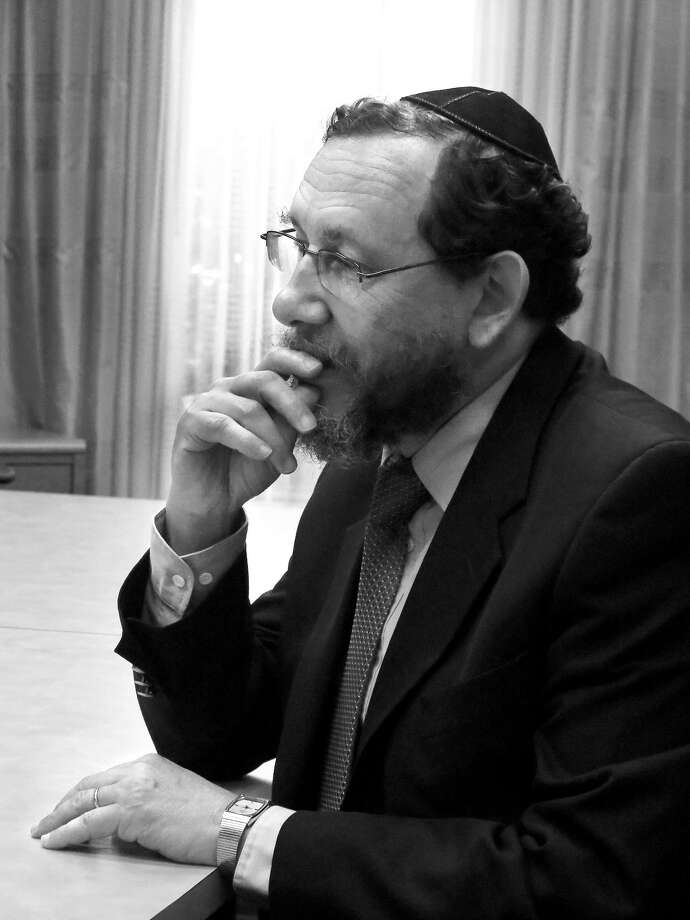 Rabbi Gabriel Frydman. Photo: Cuate Santos / Laredo Morning Times / Laredo Morning Times
