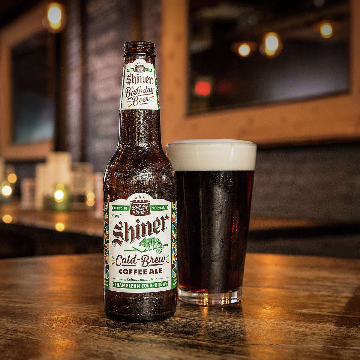 SHINER FACTS: Cool Facts about Shiner everyone should know For its 108th birthday Shiner Beer collaborated with Austin's Chameleon Cold Brew to make a coffee-laden beer, available for a limited time. Click through to learn more about Shiner Beer....