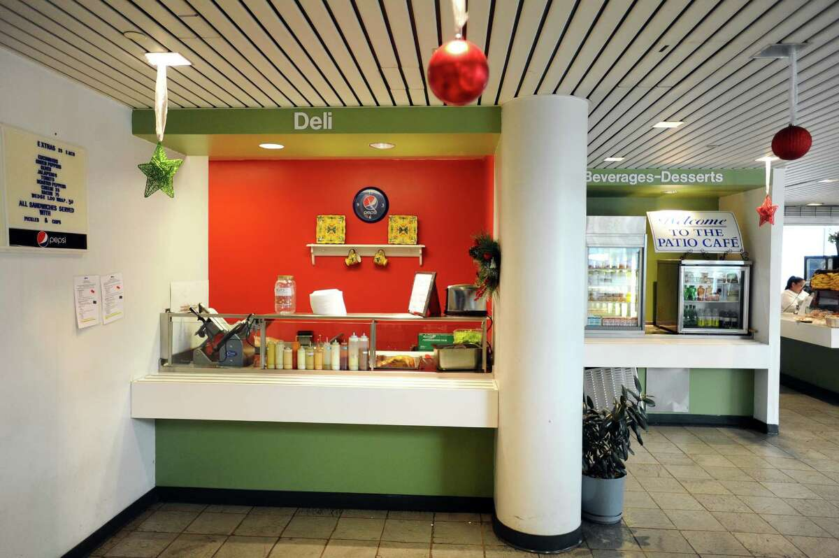 Photos of the cafeteria inside Government Center in Stamford, Conn. on Tuesday, Dec. 27, 2016.