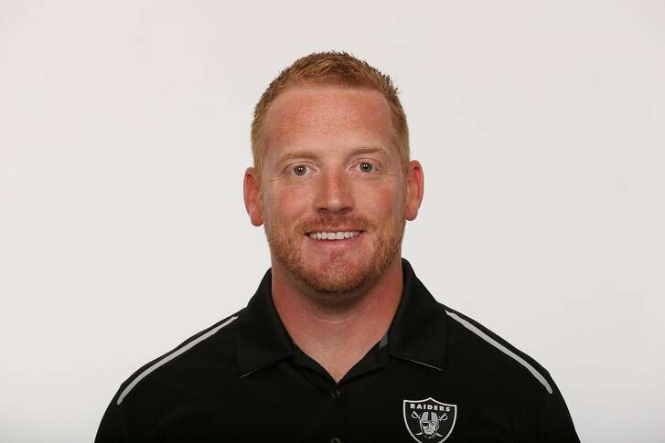 This is a photo of Todd Downing of the Oakland Raiders NFL football team. This image reflects the Oakland Raiders active roster as of Thursday, June 23, 2016. (AP Photo)