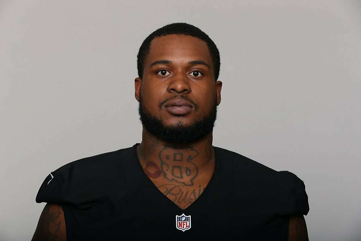 This is a 2016 photo of Darius Latham of the Oakland Raiders NFL football team. This image reflects the Oakland Raiders active roster as of Monday, May 9, 2016 when this image was taken. (AP Photo)
