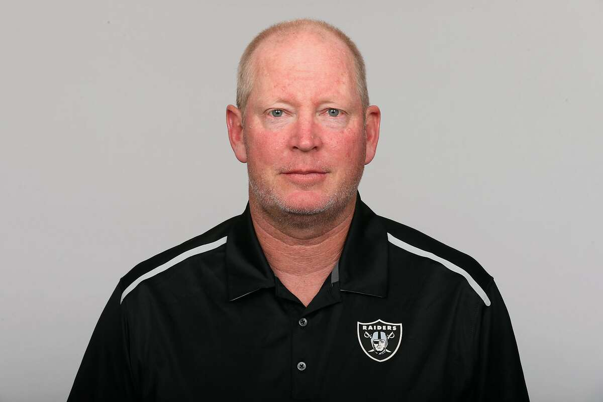 This is a photo of Bill Musgrave of the Oakland Raiders NFL football team. This image reflects the Oakland Raiders active roster as of Thursday, June 23, 2016. (AP Photo)