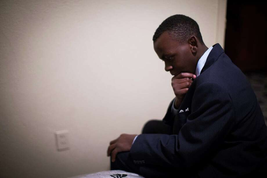 Tra'Vris Williams, 14, of south Houston has failed the first grade and the sixth grade. He has been diagnosed with attention-deficit hyperactivity disorder and bi-polar disorder. The first time his mother tried to get his school to evaluate him, Wiliams was on third grade, the school didn't evaluate him, instead suggested 504 accommodations. Sunday, Dec. 18, 2016, in Houston. ( Marie D. De Jesus / Houston Chronicle ) Photo: Marie D. De Jesus, Staff / © 2016 Houston Chronicle