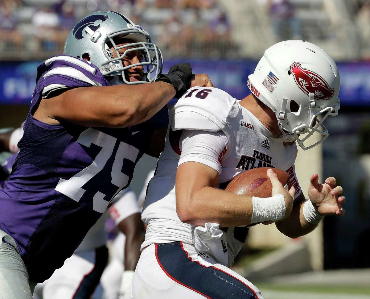 WILLIS, AND WE'RE NOT TALKING BY CONROE Texas A&M's Myles Garrett isn't the only sack master in the Texas Bowl. KSU's Jordan Willis is the Big 12's defensive player of the year after tying the school record with 11.5 sacks, a chunk of his 16.5 tackles for loss this season. His 26 career sacks rank third in school history, 6.5 behind that of the more heralded Garrett (and in one more season of action). The Aggies lost starting offensive guard Connor Lanfear to a knee injury in early November, and a mix-and-match offensive line has struggled since.