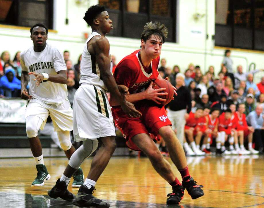 Fairfield Prep's John Kelly received an offer from Sacred Heart last year and has gotten looks from Ivy League programs such as Columbia, Yale and Cornell. Photo: Christian Abraham / Hearst Connecticut Media / Connecticut Post