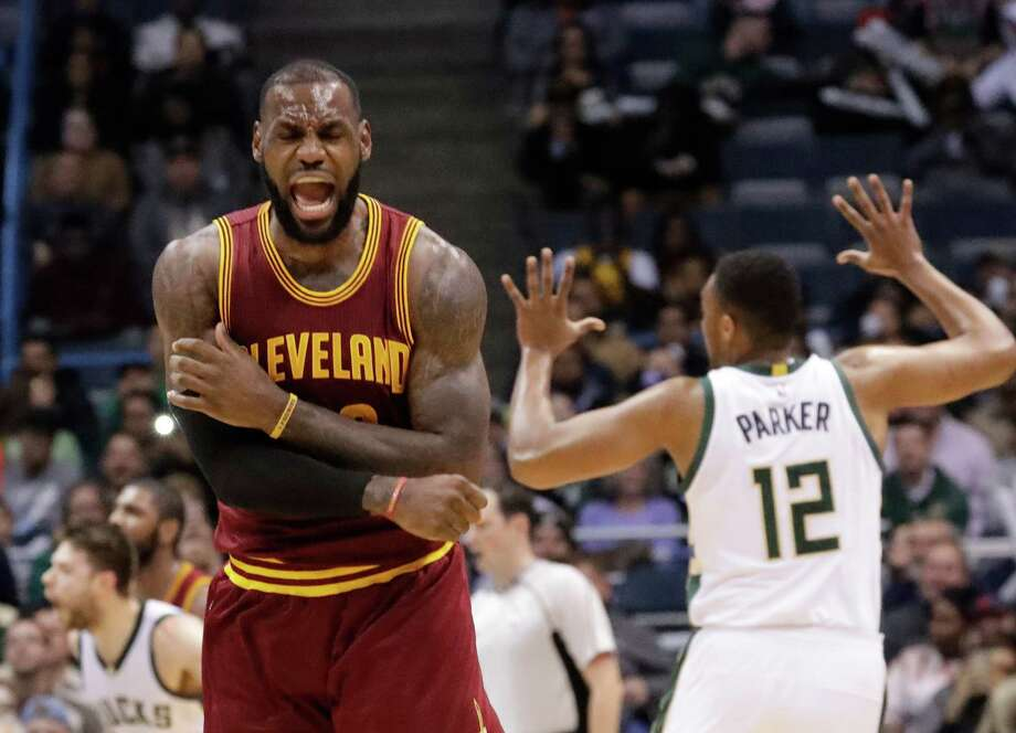 NBA  LeBron James named AP Male Athlete of Year - The Courier d1563001c