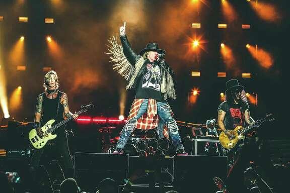 Guns N' Roses hits the Alamodome on Friday.