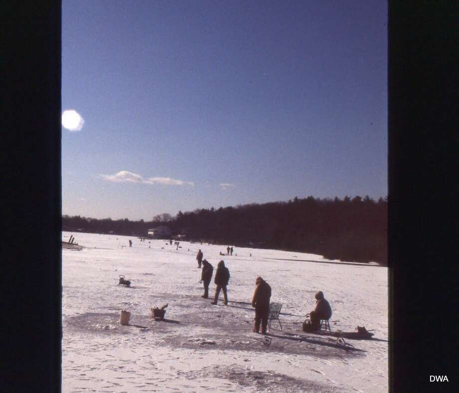Lakes and ponds in northwest Connecticut are usually the first to produce safe ice, while of Fairfield County can often be questionable throughout the winter. Photo: /