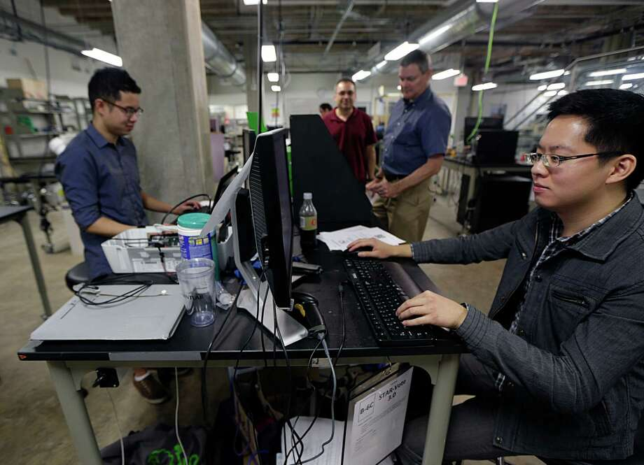 The team behind the STAR vote machine wanted to create a digital system with easily verifiable results. Photo: James Nielsen, Staff / © 2016  Houston Chronicle