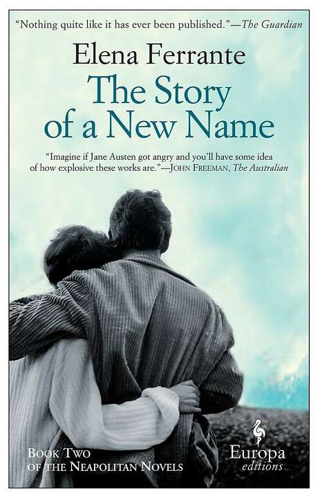 """""""The Story of a New Name"""" Photo: Europa Editions"""