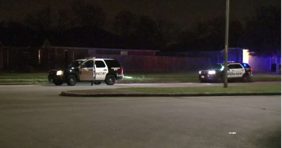 A homeowner shot and wounded a burglary suspect about 3:30 a.m. Dec. 28, 2016, in the 4100 block of Ridgerod Lane in southwest Houston. (Metro Video)