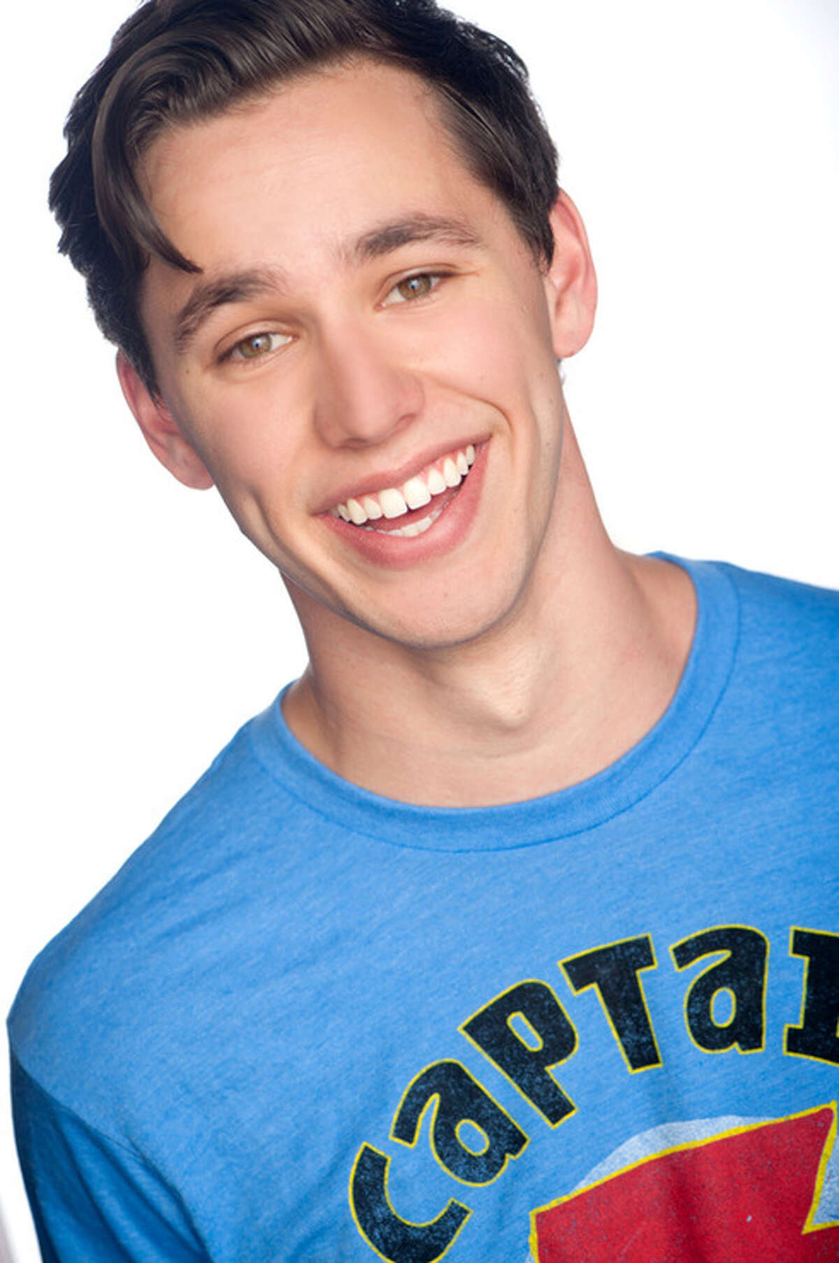 Gabe Gibbs stars in the national touring production of Book of Mormon.