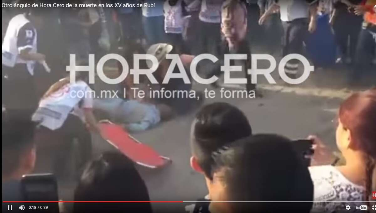 """According to Mexican media outlet Horacero, the man was the leader of a group called the """"Coyotes Negros"""" and was hit by his own horse. The race's winner would be awarded 10,000 pesos, or about $500."""