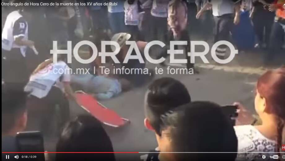 "According to Mexican media outlet Horacero, the man was the leader of a group called the ""Coyotes Negros"" and was hit by his own horse. The race's winner would be awarded 10,000 pesos, or about $500."