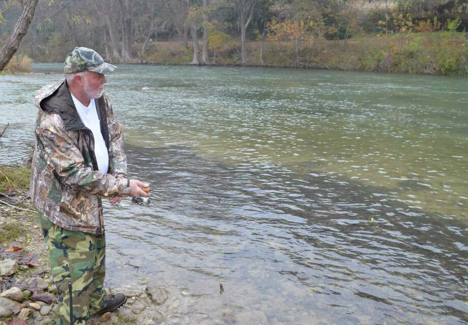 Outdoors calendar dec 30 san antonio express news for Guadalupe river trout fishing