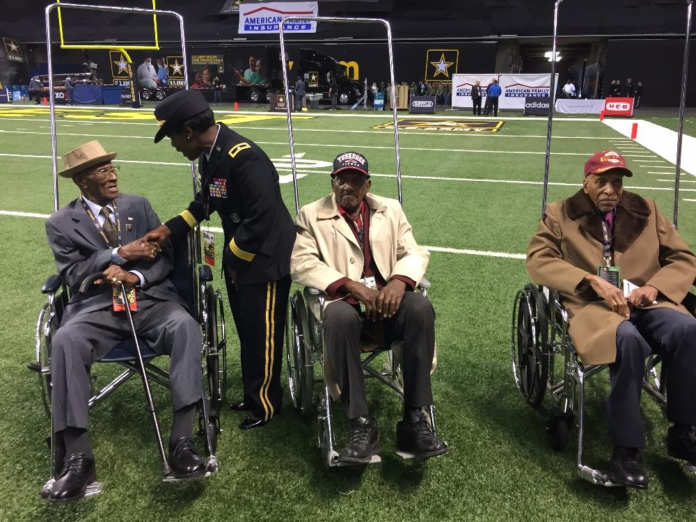 Richard Overton, veteran tertua yang masih hidup di negara ini, berusia 112 tahun