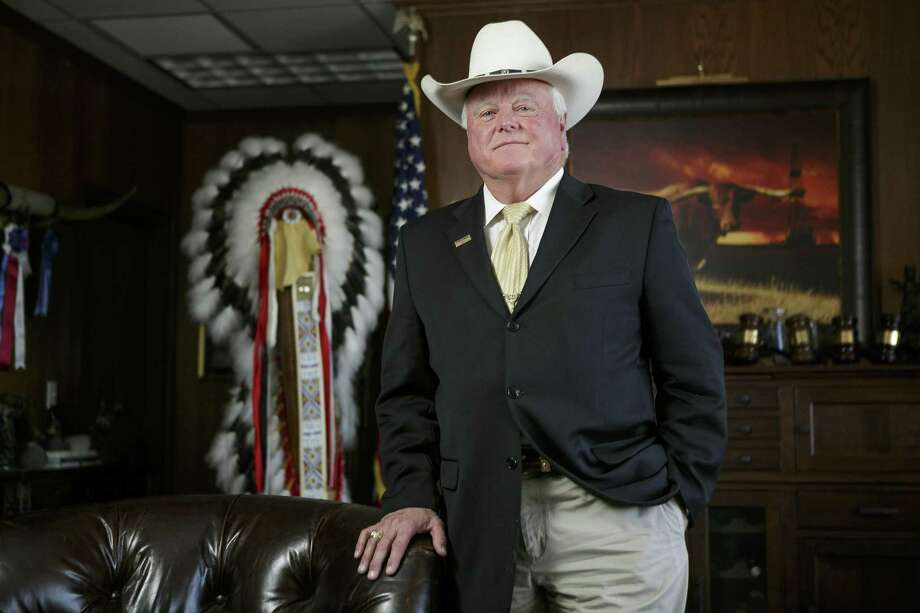 Texas Agriculture Comissioner Sid Miller in his offices in Austin Texas, Noverber 21, 2016. Photo: Spencer Selvidge For The San Antonio Express-News / Spencer Selvidge For The San Antonio Express-News / Copyright 2016, Spencer Selvidge for the San Antonio Express-News.