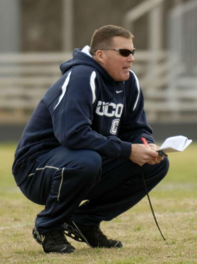 Connecticut football head coach Randy Edsall. Photo: Dana Romanoff, AP