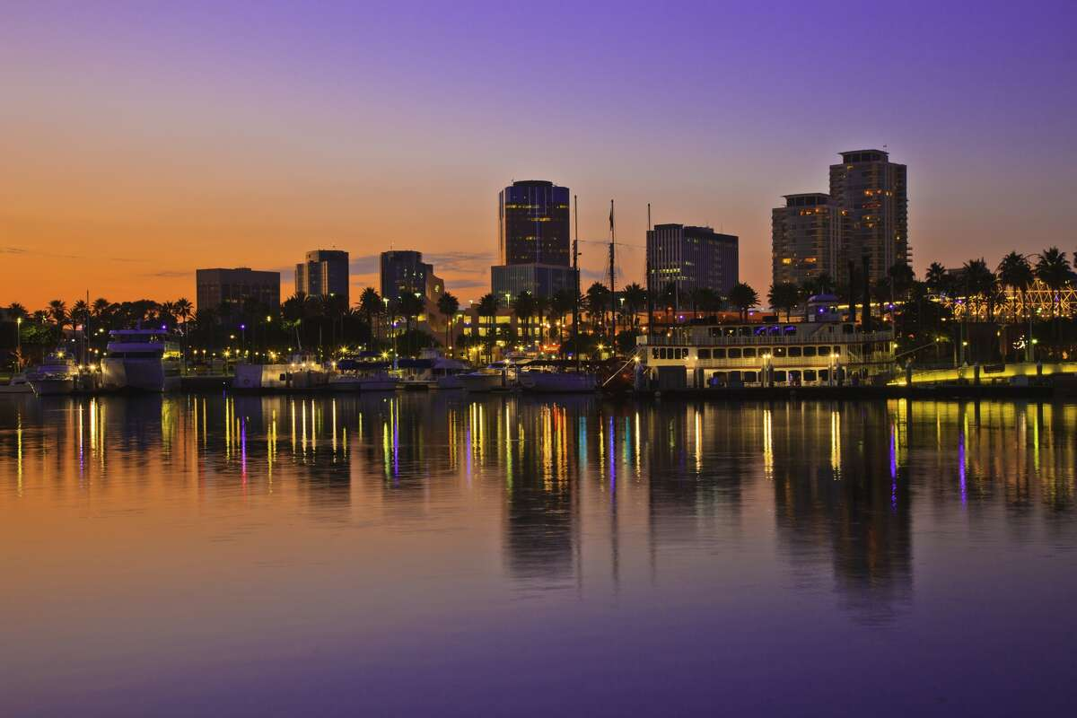 8. Long Beach, Calif. - The average woman would spend 55 percent of her income on her mortgage.