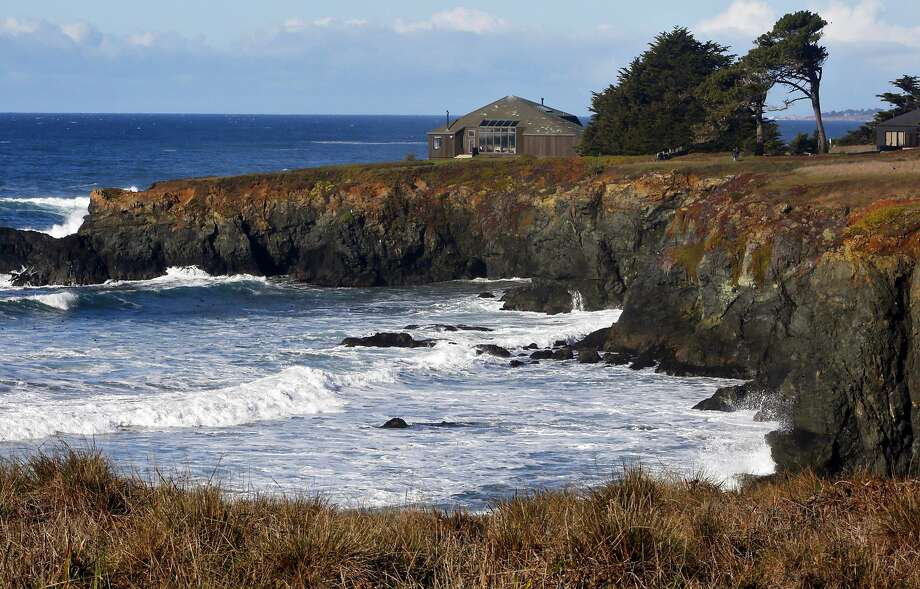 A home on the bluffs at The Sea Ranch. Photo: Kathleen Duncan / The Chronicle