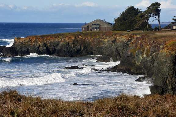A home on the bluffs at The Sea Ranch.