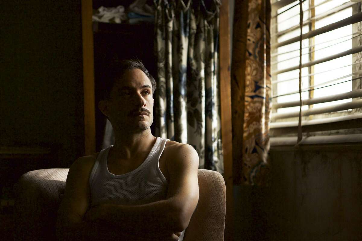 """Gael Garc�a Bernal as police inspector �scar Peluchonneau in a scene from """"Neruda,"""" opening at Bay Area theaters on Friday, January 13. Credit: Courtesy of The Orchard"""