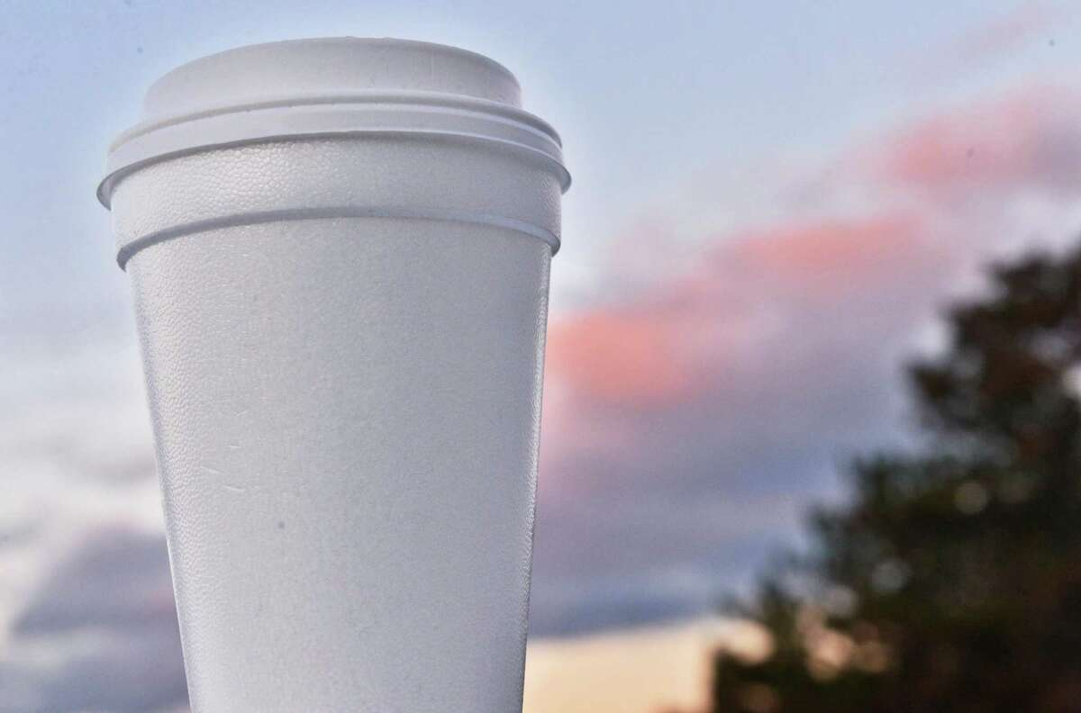 Albany County's ban on Styrofoam containers affects some chains, but not others. (John Carl D'Annibale / Times Union)