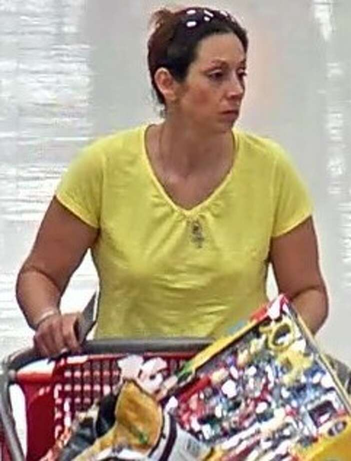 This woman is believed to have stolen more than $2,500 in merchandise from various Target store locations in San Antonio. She is pictured here at a Super Target off Loop 1604 on Oct. 13, 2016. Photo: San Antonio Police Department