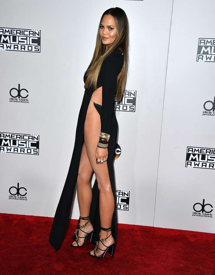 Chrissy Teigen attends the 2016 American Music Awards at Microsoft Theater in Los Angeles. Photo: Steve Granitz/WireImage