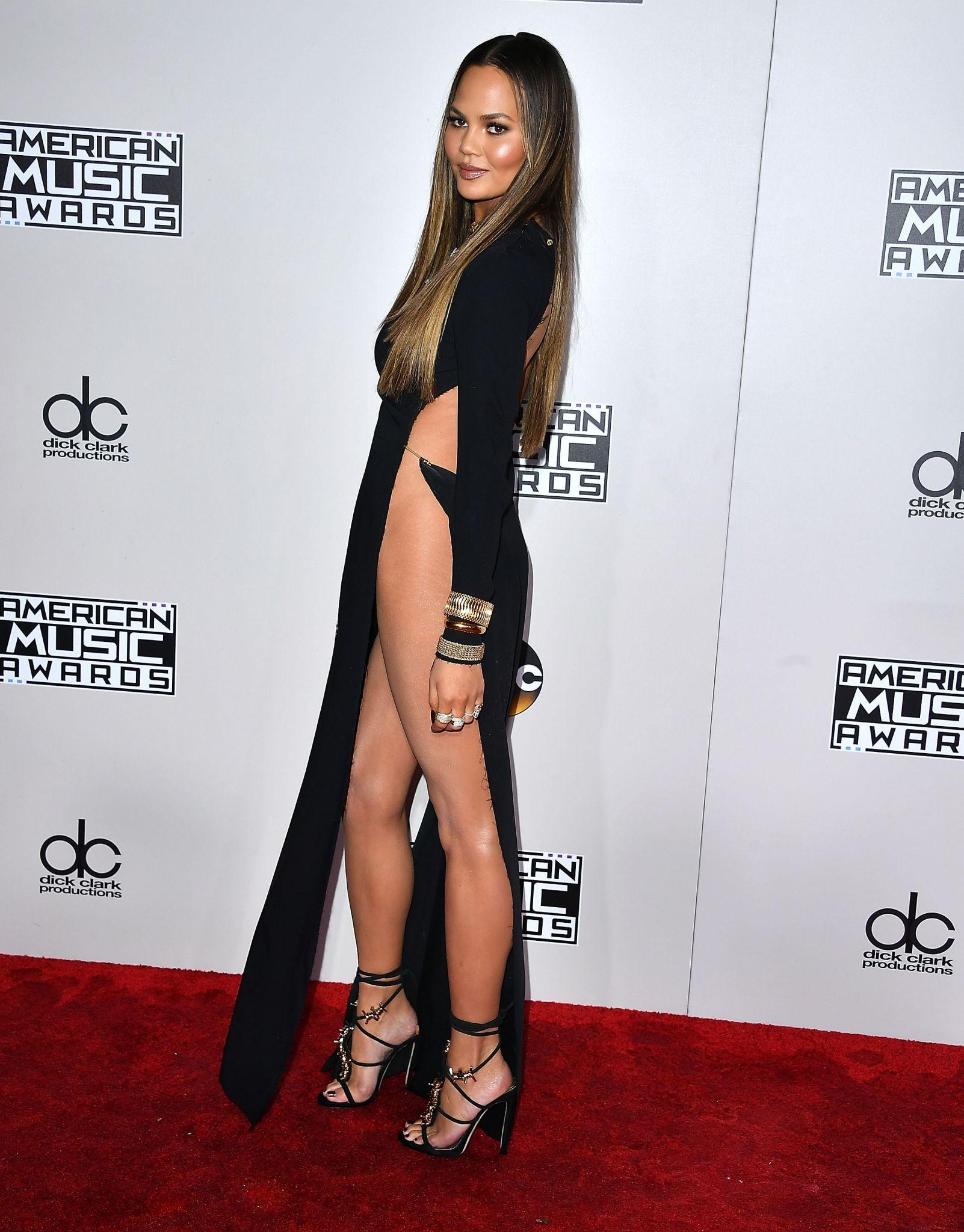 Chrissy Teigen naked dress: Is full frontal nudity next