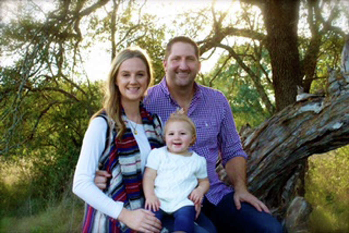 Dr. Jeff Burke, wife Kimberly and daughter Tylee pose for a photo. Burke is the lone finalist for Splendora ISD superintendent. The Splendora ISD board of trustees voted to name him lone finalist for superintendent during a meeting Thursday, Dec. 22.