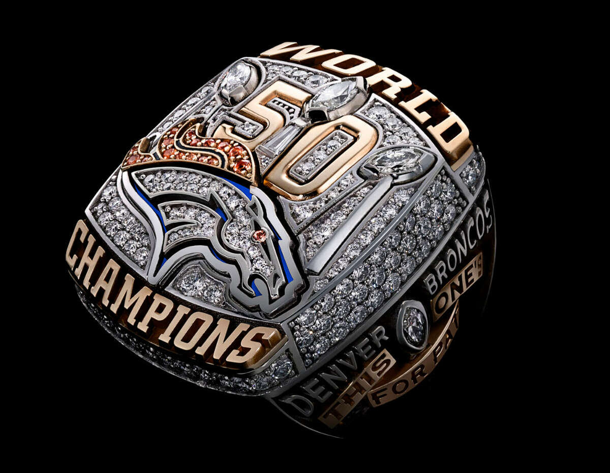 Super Bowl L - Denver Broncos Continue clicking to see the Super Bowl championship rings through the past 50 years.