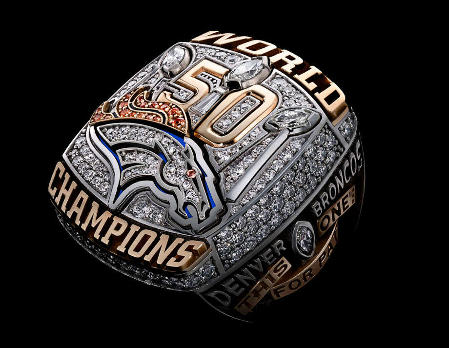 Super Bowl L - Denver BroncosContinue clicking to see the Super Bowl championship rings through the past 50 years. Photo: Courtesy Of NFL