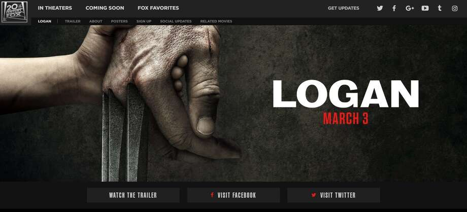 """Movies """"Logan"""" (March 3): Hugh Jackman pops the claws one last time as the broody mutant hero Logan, a role he's owned since 2000's """"X-Men."""" Inspired by the """"Wolverine: Old Man Logan"""" comic series, """"Logan"""" features an older and noticeably battle-scarred Logan in a grim future with no X-Men around to fight the good fight. Patrick Stewart reprises his role as mutant mentor Charles Xavier, with Dafne Keen as the mysterious young girl who may be a new hope for mutantkind. Photo: Official """"Logan"""" Website Screenshot"""