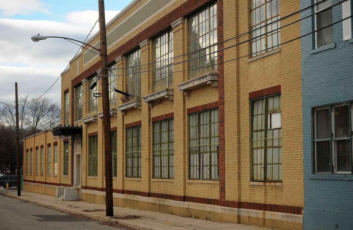 Fischel Properties executive rental space at 10 Hoyt Street, onetime headquarters and manufacturing plant for Hotchkiss Staplers in Norwalk, Conn. on Wednesday, December 28, 2016.