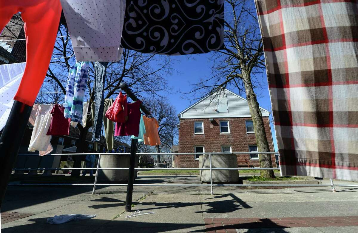 The oldest public housing in Connecticut, Washington Village, on Wednesday, April 20, 2016, in orwalk, Conn. is scheduled for a $110 million reconstruction project.