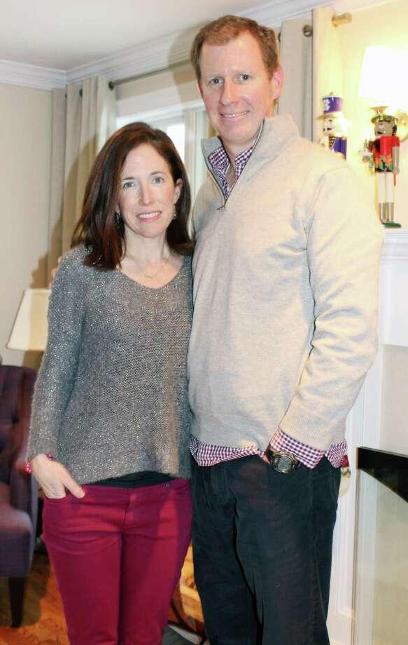 Megan and Brendan McCarthy of Darien helped found San Miguel Academy of Newburgh. Photo: Erin Kayata / Hearst Connecticut Media / Darien News