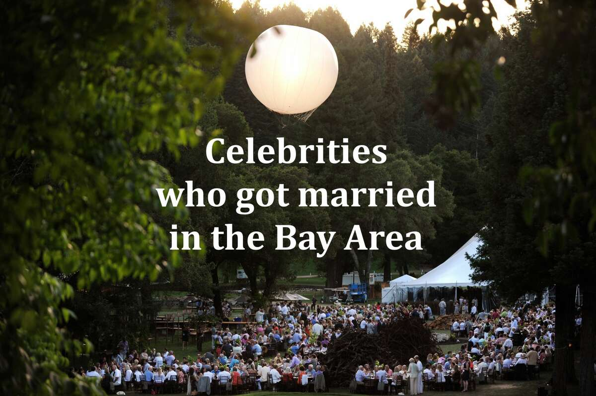 Click ahead to see some celebs who tied the knot locally.