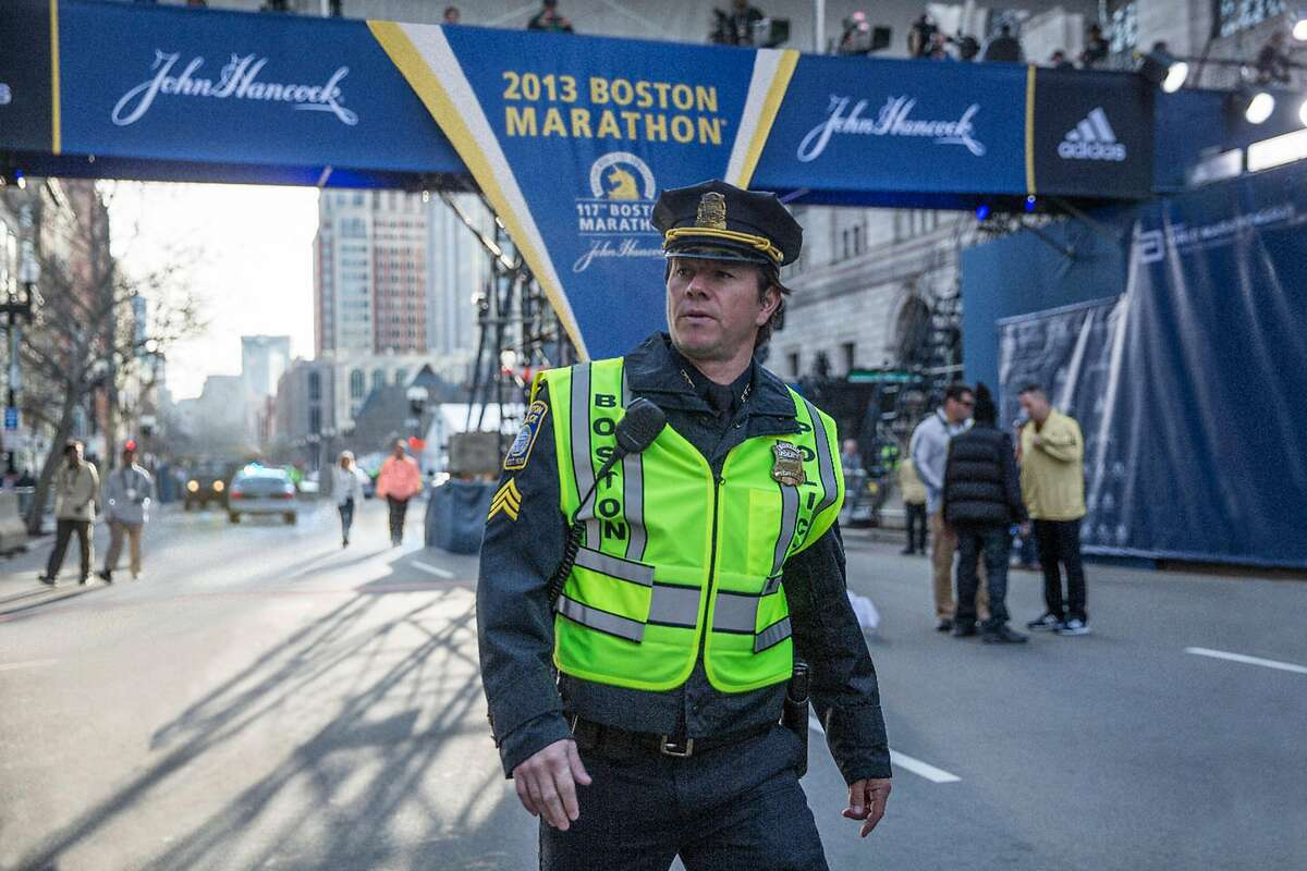 """Mark Wahlberg plays Boston Police Sgt. Tommy Saunders in the film """"Patriots Day."""" (CBS Films)"""