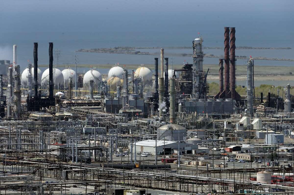 The Richmond Chevron Refinery in Richmond, Calif., on Thursday, July 23, 2015.