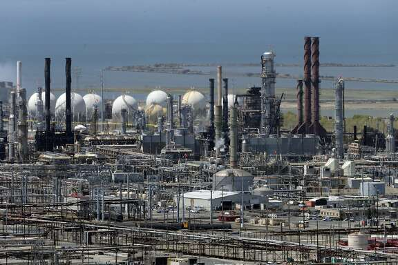 The Richmond Chevron Refinery in Richmond, Calif., on Thursday, July 23, 2015.