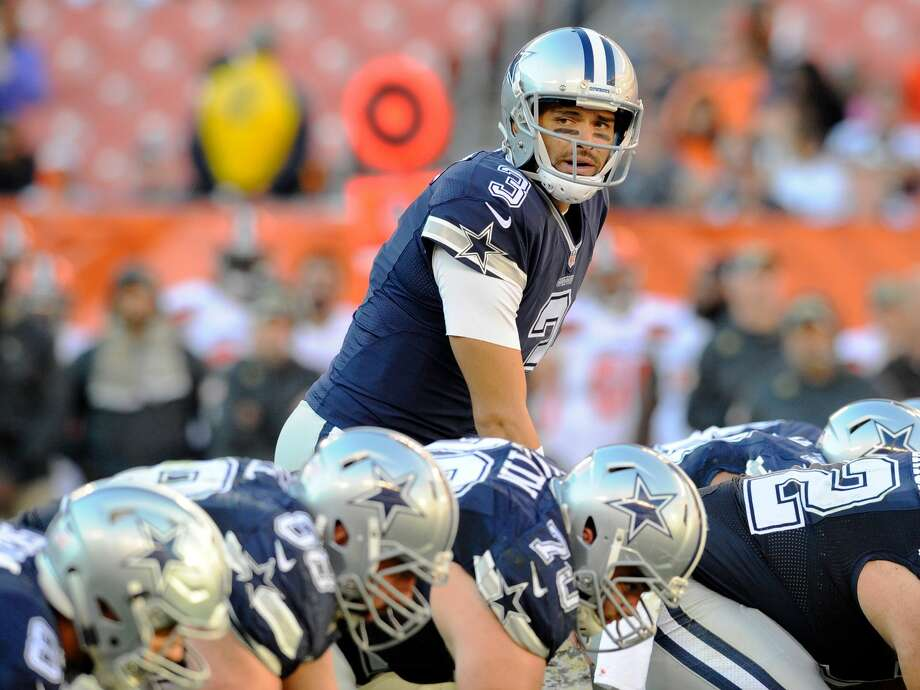 CLEVELAND, OH - NOVEMBER 6, 2016: Quarterback Mark Sanchez #3 of the Dallas Cowboys takes the snap from under center during a game against the Cleveland Browns on November 6, 2016 at FirstEnergy Stadium in Cleveland, Ohio. Dallas won 35-10. (Photo by: Nick Cammett/Diamond Images/Getty Images) Photo: Diamond Images/Diamond Images/Getty Images