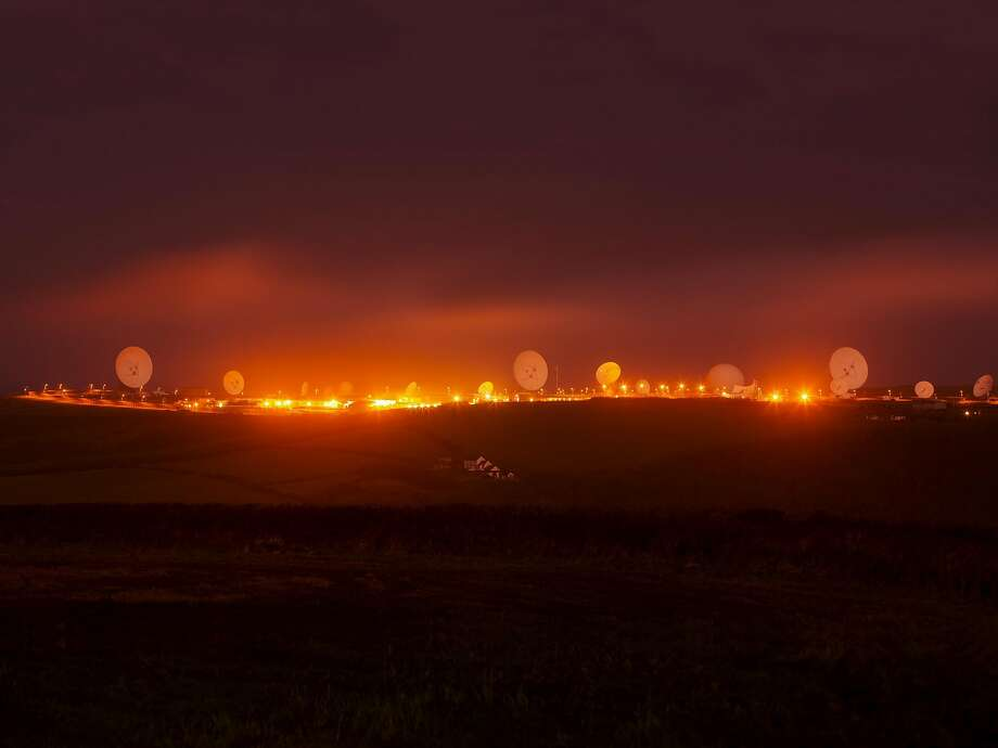 "Trevor Paglen, ""NSA/GCHQ Surveillance Base, Bude, Cornwall, UK"" (2014). Photo: Courtesy The Artist, Altman Siegel"