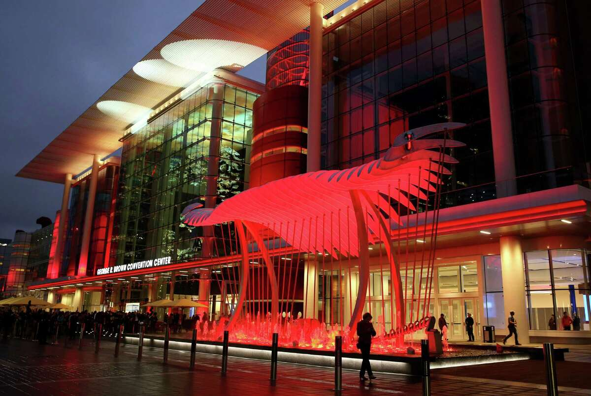 The new Avenida plaza at the George R. Brown Convention Center.
