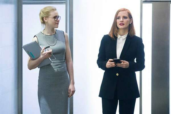 MISS SLOANE: The movie is too imperfect to make a top ten list, but Jessica Chastain was so much fun as a hard driving Washington lobbyist that I look forward to seeing this again.