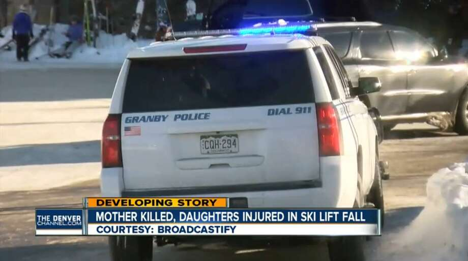A San Antonio woman died after falling 20 feet from a chairlift at a small Colorado ski area Thursday, Dec. 29, 2016. Photo: KMGH - Denver, CO