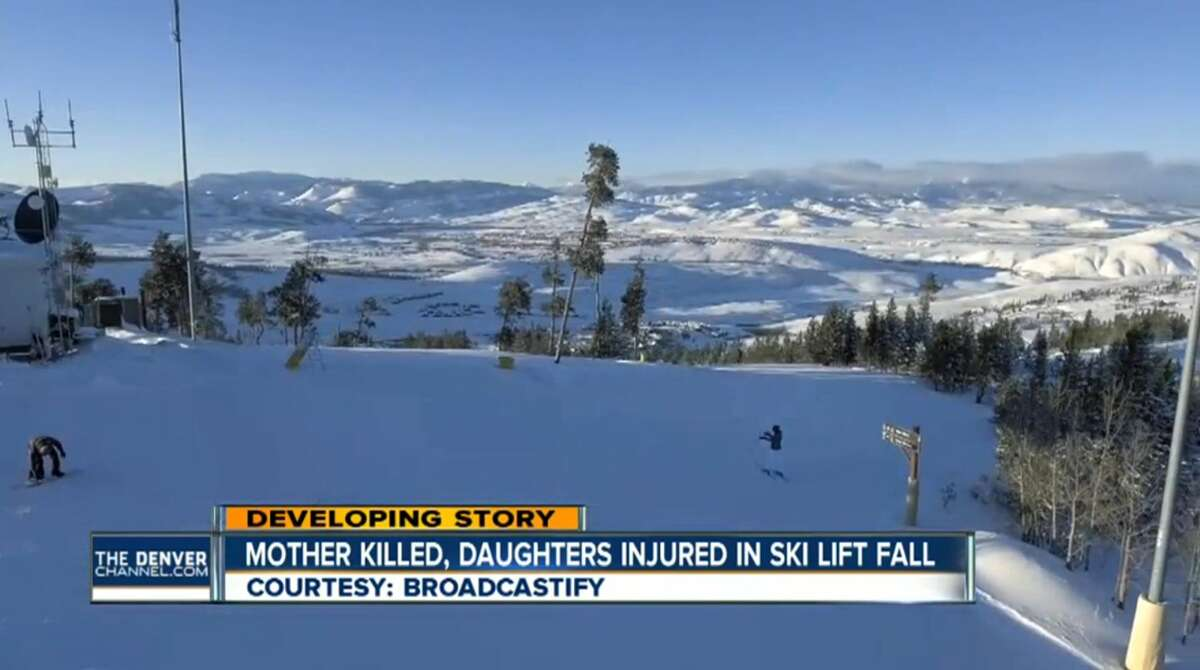 A San Antonio woman died after falling 20 feet from a chairlift at a small Colorado ski area Thursday, Dec. 29, 2016.