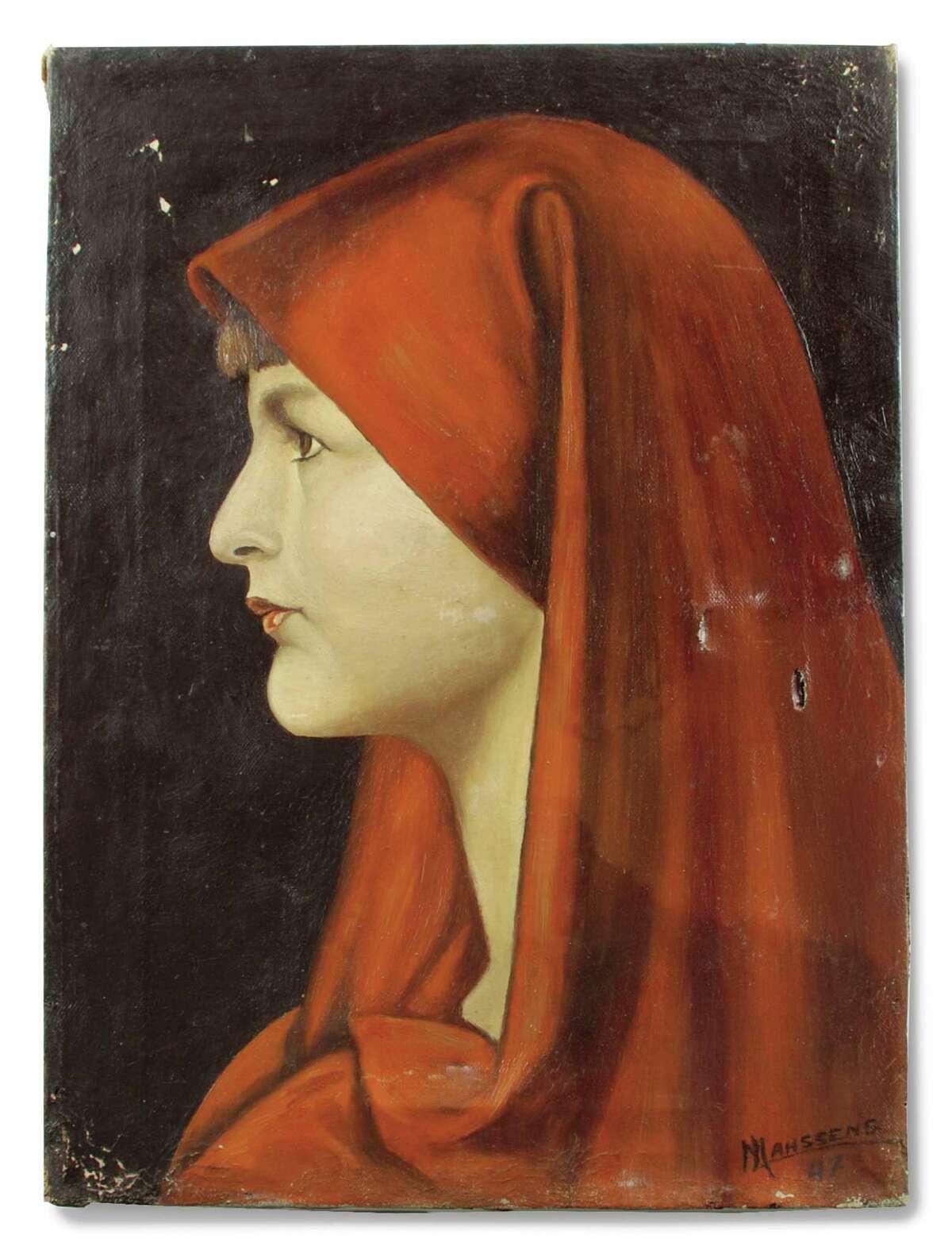 Alÿs found J. Mahssens' oil painting
