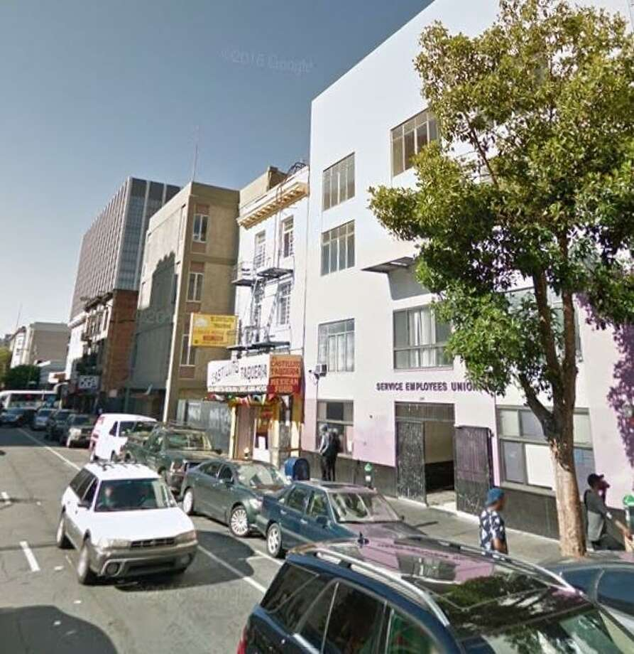 One man died and another was wounded when gunfire broke out Wednesday afternoon on the 200 block of Golden Gate Avenue near the Civic Center in San Francisco. Photo: Google Maps / /