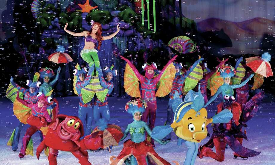 "Ariel & Friends, from ""Dream Big,"" Disney on Ice, Thursday-Sunday, Jan. 5-8, at Webster Bank Arena. Photo: Heinz Kluetmeier-Disney On Ice / Contributed Photo / Connecticut Post Contributed"